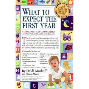 What To Expect In The First Year | Parenting Book at little green footprints