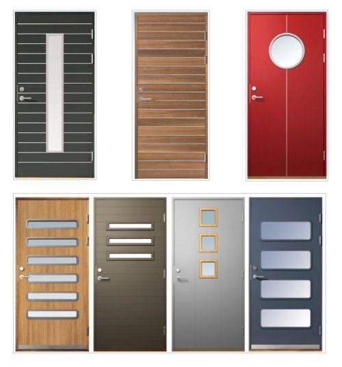 20 best ideas about puertas de madera modernas on for Modelos de puertas