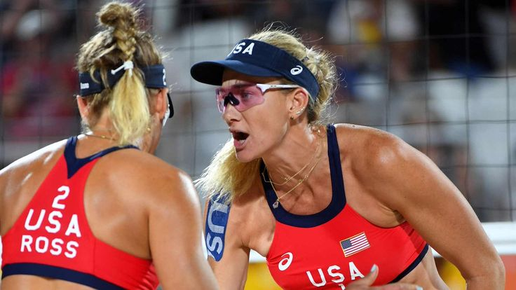 Rio de Janeiro Olympics Highs and Lows  The world of Beach  Volleyball  has never seen the Highs that these two women have performed in the last year,they won their first match  v.Aus  2-0 to get their High on