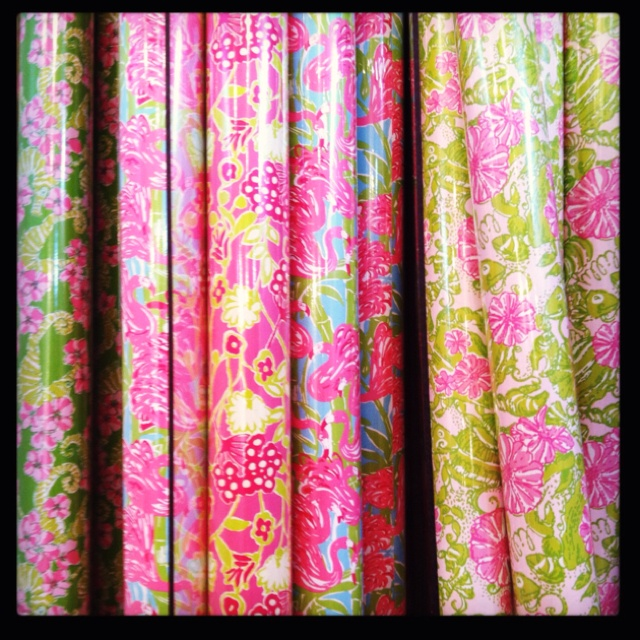 Lilly Pulitzer Party Supplies; Stationery and Paper Goods