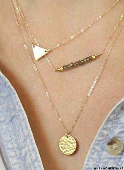 Delicate Gold Necklaces From £47 | sheerluxe.com