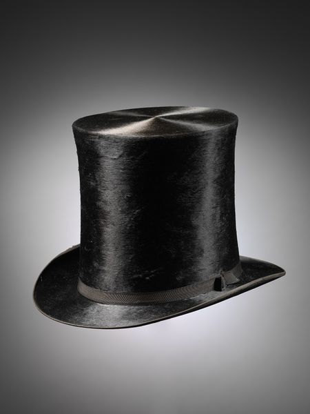 1850-70 Men's silk top hat. Messrs Chapman & Moore. The V&A, London.