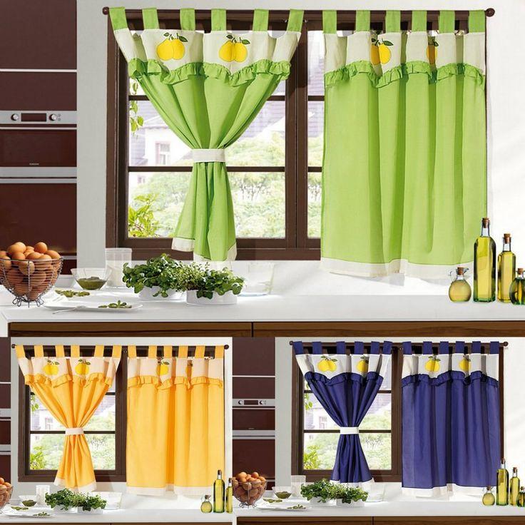 Las 25 mejores ideas sobre cortinas para cocina en - Como hacer estores ...
