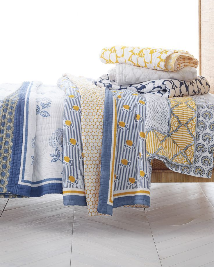 Layer Your Bed In Style | Quilts Via Serena U0026 Lily