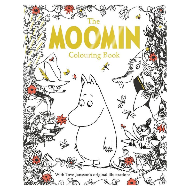 Beautifully conceived and designed, this contemporarycolouring mindfulness book features amazingMoomin patterns and scenes as well as all your favourite Moomin characters and their most memorable quotes on96 beautiful pages. Fun for people of all ages!Size 22.5 x 1.2 x 28.6 cm96 pages