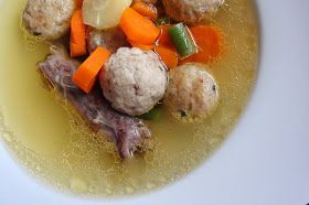 zsuzsa is in the kitchen: DUCK GIBLET SOUP - KACSA APRÓLÉK LEVES