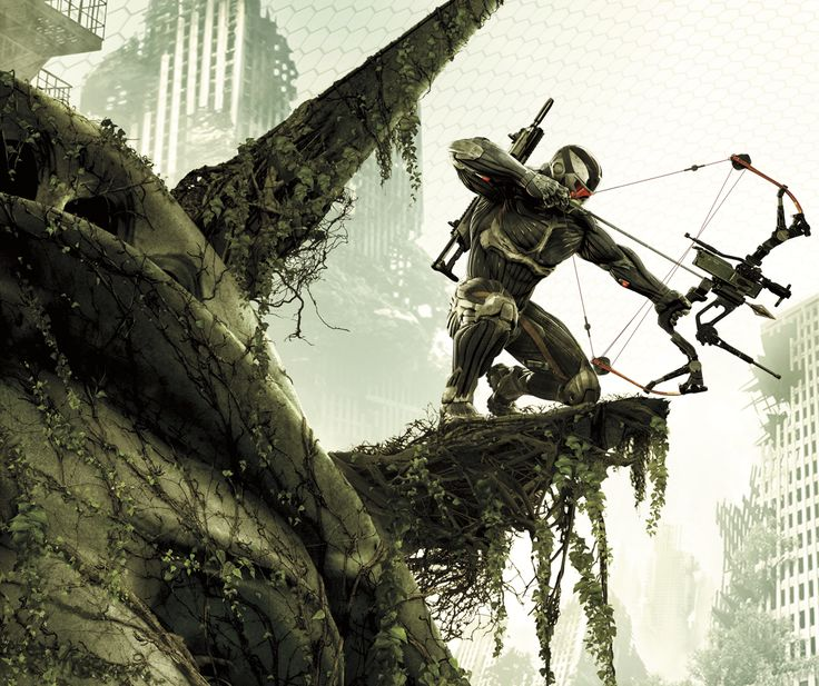 Crysis 3, officially! Oh boy oh boy, it looks good. A mix from 1 & 2! <3