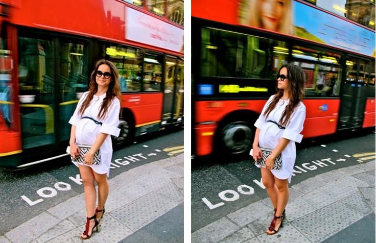 Pregnant & Heels!! <3 Miroslava Duma.