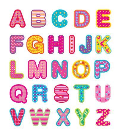 Aqui os pongo algunos abecedarios infantiles que me habeis pedido para hacer con los peques, espero que te sirvan lisa y para la que le hag...