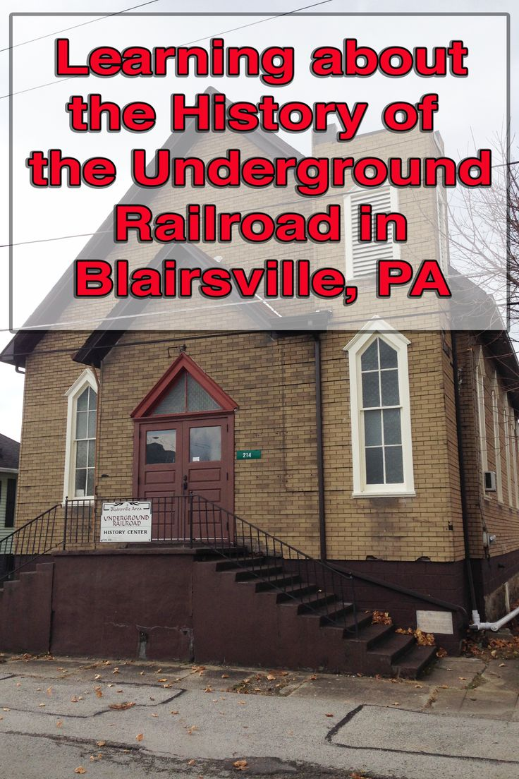 If you want to learn about the Underground Railroad in western Pennsylvania, there are few better places than the Blairsville Underground Railroad History Center. Find out more here: http://uncoveringpa.com/underground-railroad-blairsville-pennsylvania