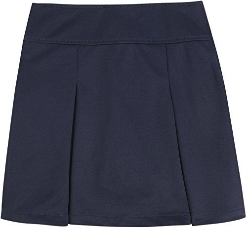 French Toast School Uniform Girls Kick Pleat Scooter Navy X-Large (14/16)