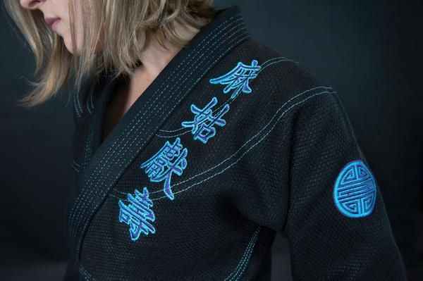 All sizes except F4sold out. We do not expect to make more of this edition so get them while you can!The Blue Ma Gu Woman's Jiu Jitsu Gi is the...