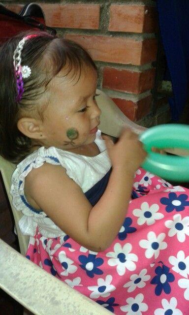 mi princesa en una piñata