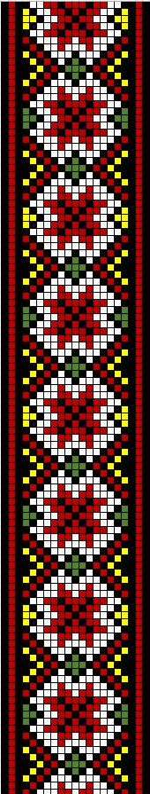loom pattern - source: http://media-cache-ec0.pinimg.com/736x/a4/65/f8/a465f897003828bb6a7a371d7742e2bf.jpg