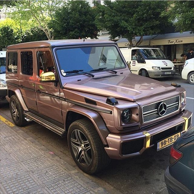 So, What Do We Think Guys And Girls? Rose Gold G Wagon