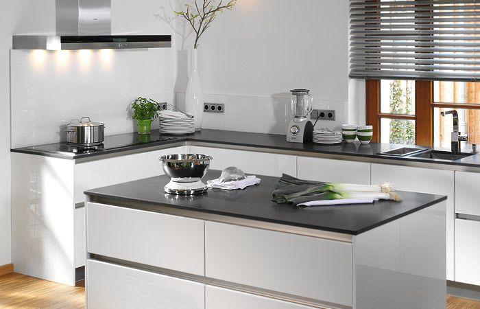 küchen modern mit kochinsel - Google-Suche | Keuken | Pinterest ... | {Küchenblock modern hochglanz 69}