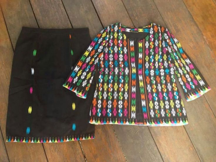 Tenun NTT shirt and skirt