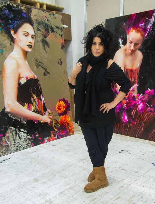 Lita Cabellut, la pintora española más cotizada del mundo - XL Semanal