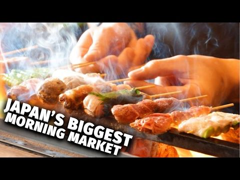 Japan's Biggest Morning Market - YouTube