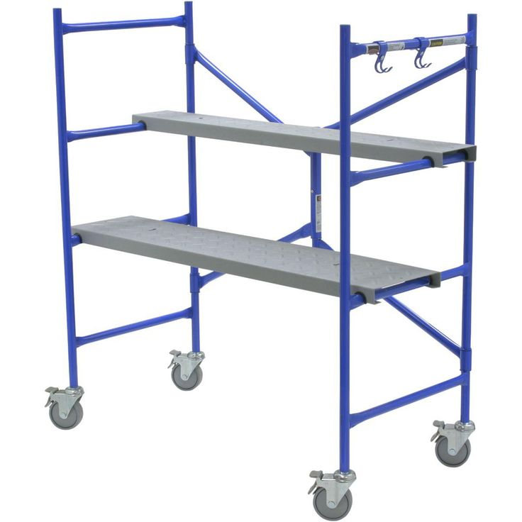 Have you considered trying a portable scaffold to reach new heights? http://qoo.ly/mmg9r