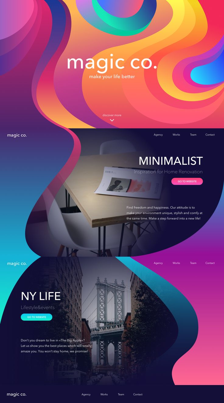 landing page design by TUBIK                                                                                                                                                                                 More
