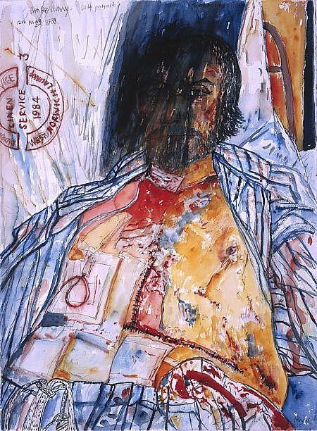 John Bellany, Self-Portrait