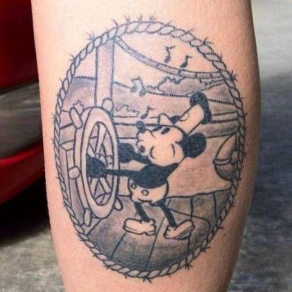 Best Disney Tattoos | Cool Disney Tattoo Ideas