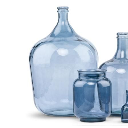 It S About Romi Extra Large Recycled Glass Vase Denim Glass Vase Vase And It S About Romi