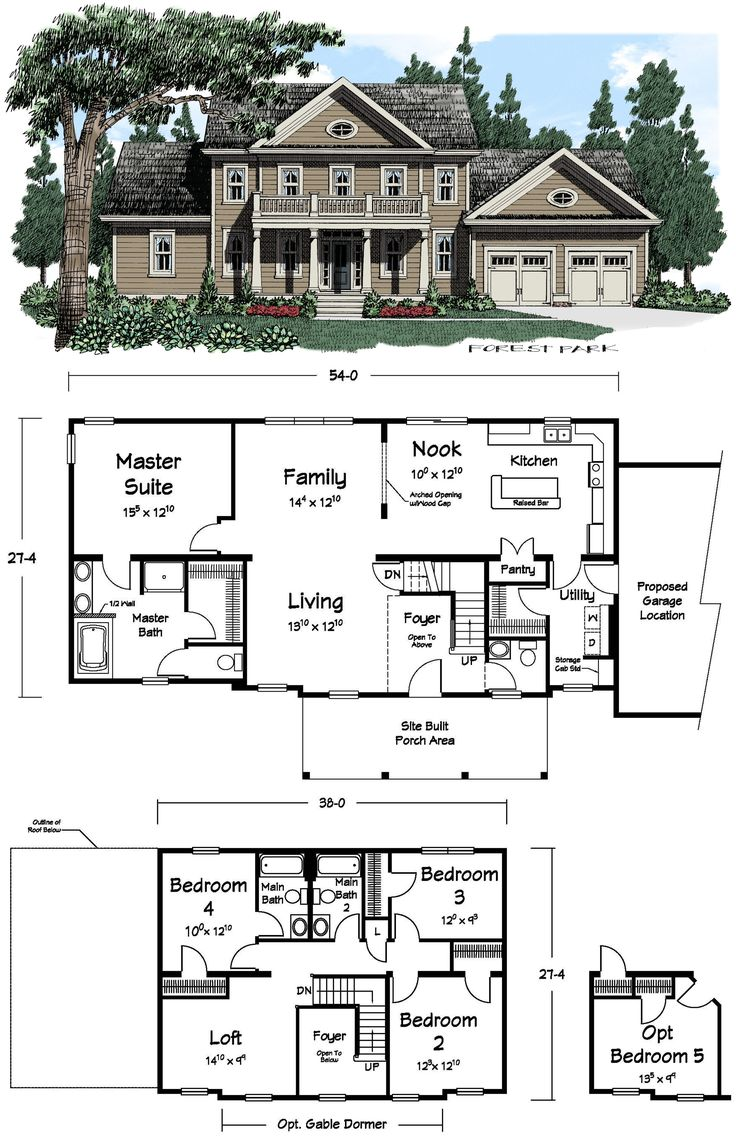 4 Bedroom House Plans Open Floor Southern Living