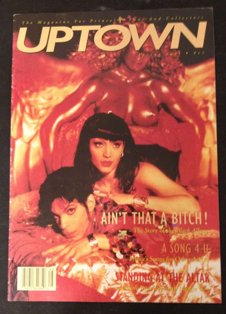Prince UPTOWN Magazine Issue 17 Mayte Black Album Margie Cox Songs He Wrote