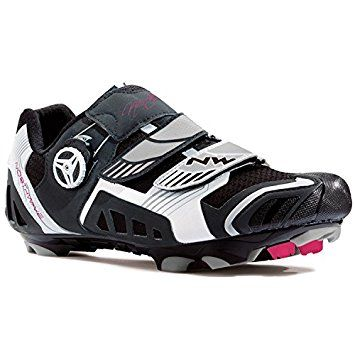 Northwave Nirvana Women's Cycling Shoes Mountain Bike Black White 38