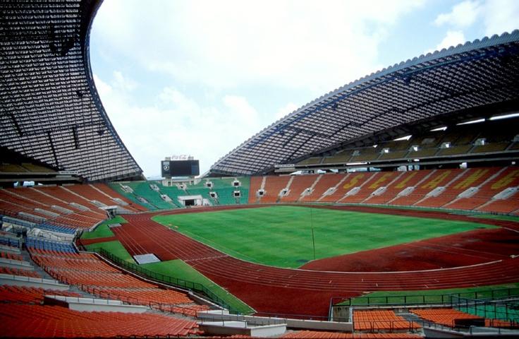 (Soccer) Shah Alam Stadium,Shah Alam, Malaysia - home of Selangor FA (capacity: 80,000) - inside