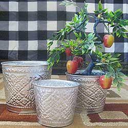 Aluminum Handicrafts - Small bucket set of 3