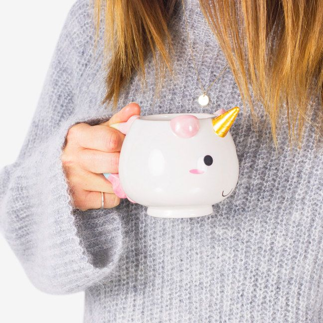 Meet Elodie the Unicorn Mug, the ceramic sibling to Uni the Unicorn. She looks a little like a mythical Guinea Pig but we can assure you she's very much a
