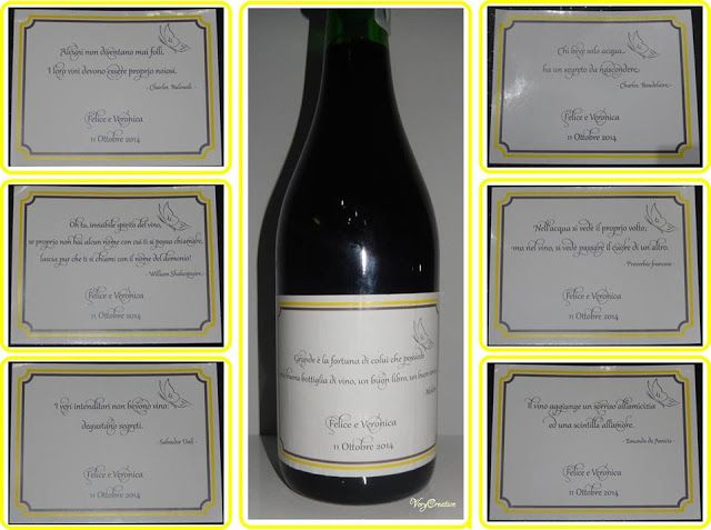 wine labels for wedding etichette bottiglie di vino per il matrimonio