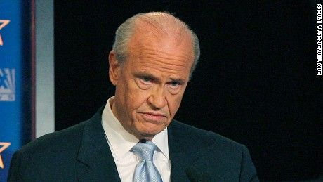 """Fred Thompson, a former U.S. senator for Tennessee and actor on """"Law & Order"""" and in movies, has died. He was 73."""