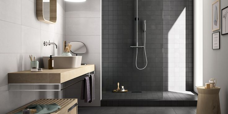 CREATIVE CONCRETE Tiles, bathroom modern ceramic full body porcelain tile [AM…