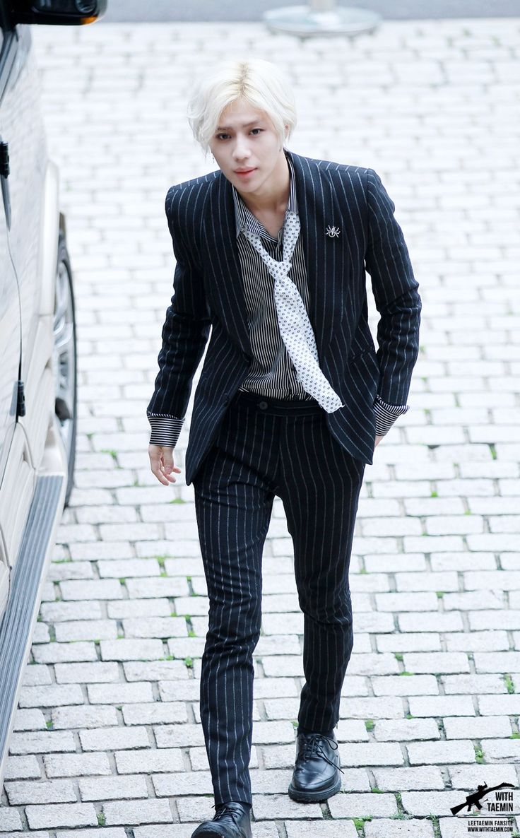 "Lee Taemin - This is his look for his new music video called ""Danger""! --My not so secret crush<3"