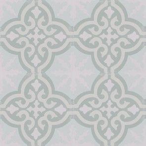 Marockanskt kakel ljust