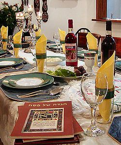 Passover and Wine. Commemorating The Flight Of the Jews From Egypt.