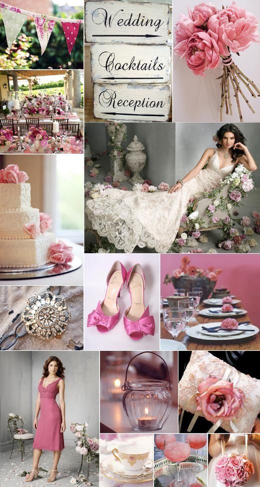 Inspiratie voor als je gaat trouwen: pioenrozen - Pinterested @ http://wedspiration.com.