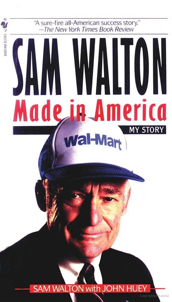 Supermarket and sam walton