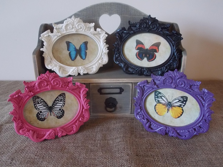 Vintage Small Oval Photo Frames, £4.95