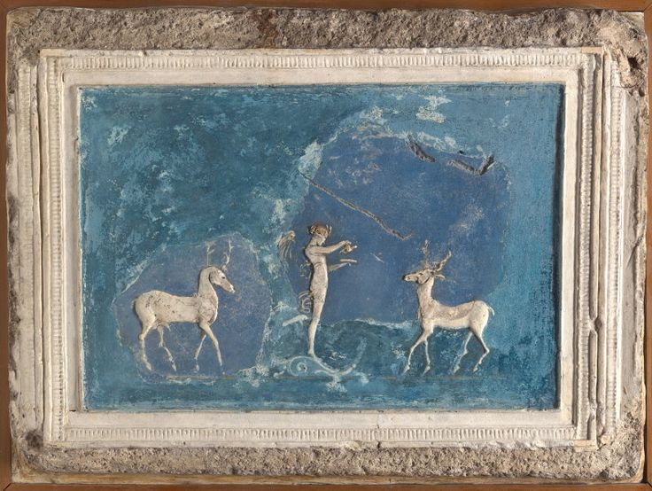 Wall Painting In The Ixion Room