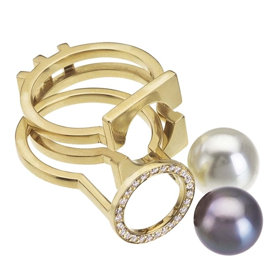 PEARL INTERCHANGEABLE RINGS
