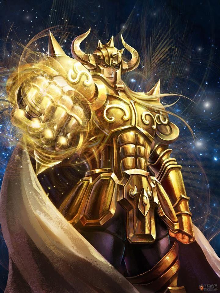 Os Cavaleiros de Ouro ganharam uma releitura diferente com esses desenhos a…