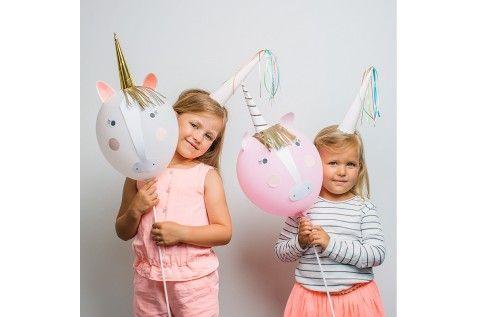 Kit ballons licorne (par 8)                                                                                                                                                                                 Plus