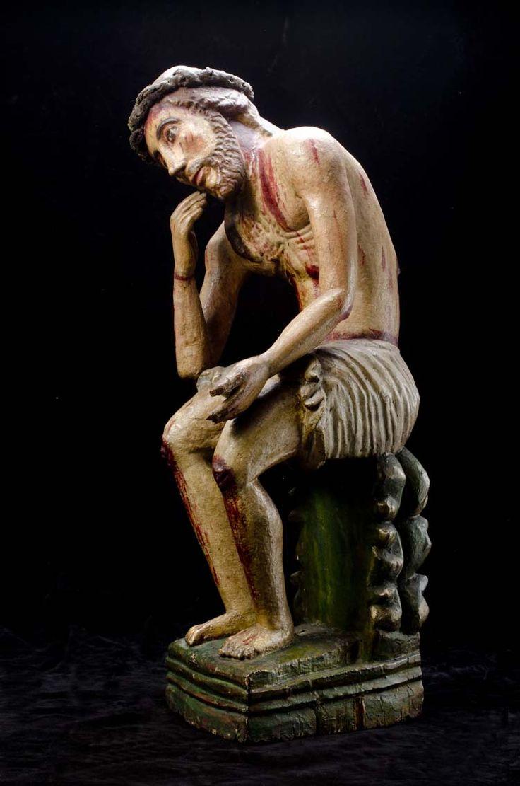 Escultura del Señor de la paciencia y la humildad #MuseoMarc