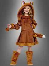 Foxy Lady! Goldiges und kuscheliges Fuchskostüm für Mädchen.