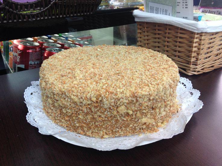 Mmmmm.....torta Panquque Nuez